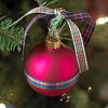 Pretty Plaid Ornament