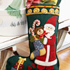Santa Applique Stockings