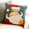 Santa & Pal Pillow