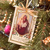Postcard Christmas Ornament