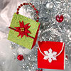 Christmas Paper Clutch Ornaments