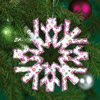 Bright Paper Snowflake Ornament