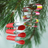Paper Ribbon Candy Ornaments