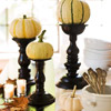 Pumpkin Candlestick Centerpiece