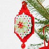 Paper Medallion Christmas Ornament