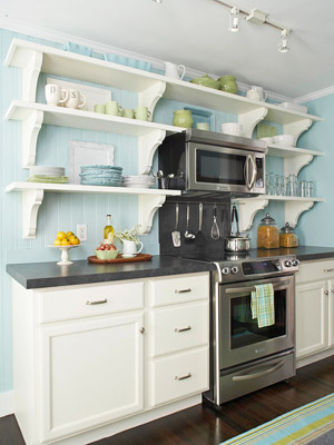 Kitchen Decorating: Add Character to a Small Kitchen