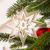 Paper Snowflake Star Ornament