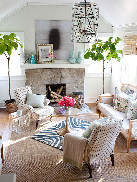 Refine a Rustic Fireplace