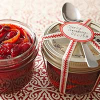 Christmas Food Gifts Using Jars
