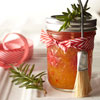 Ribbon-Tied Jar for Brush-On Sauce