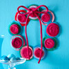 Swirly Felt Wreath