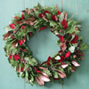 Add Layers to a Wreath with Leaves