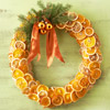 Try Fragrant Fruit in a Christmas Wreath