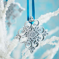 Quilled Snowflake How-To