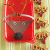Reindeer-Decorated Container for Cookies