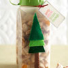 Tall Tree Container for Snack Mix