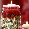 Easy Cranberry Candle