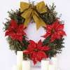 Simple Christmas Wreath Embellishments