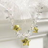 Glittery Star Garland