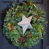 Simple Star Wreath