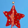 Glittery Star Ornament