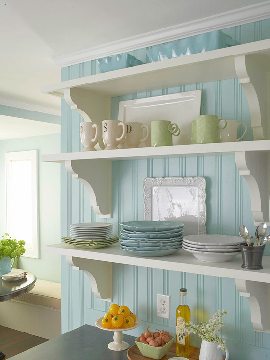 Kitchen Accessories for Open Shelves
