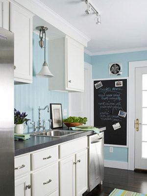 Since You Spend A Sizable Amount Of Time In The Kitchen Why Not Have It Speak To And About You Make Personal Statements On The Walls With Letter Monograms
