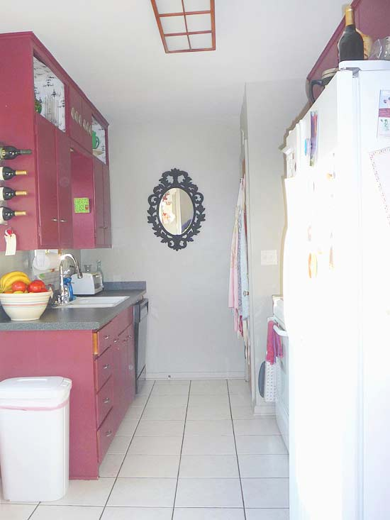 Bathroom And Kitchen Makeovers kitchen makeover: small-space blue kitchen makeover