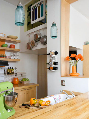 . Kitchen Decorating  How to Redesign a Small Kitchen on a Budget