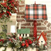 Birdhouse Christmas Mantel