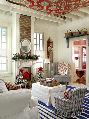 Seasonal Sitting Room