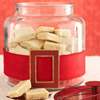 Santa's Belt-Wrapped Jar for Cookies