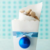 Scallop-Edge Gift Bag for Cookies