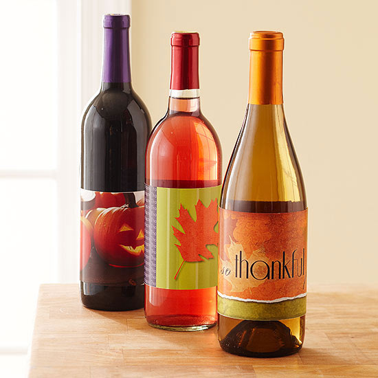 Free Wine Labels for Fall and Thanksgiving Celebrations