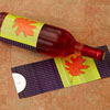 Colorful Leaf Wine Label
