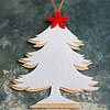 Two-Tone Felt Tree Ornament