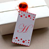 Monogrammed Christmas Gift Tag