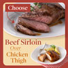 Choose Beef Sirloin Over a Chicken Thigh