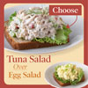Choose a Tuna Salad Over Egg Salad