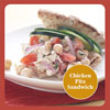 Healthy, Satisfying Sandwich Solution: Chicken Pita Sandwiches