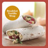 Healthy, Satisfying Sandwich Solution: Breakfast Tortilla Wrap