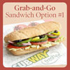 Grab-and-Go Sandwich Option #1