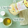 Use Egg Substitute, Not Whole Egg