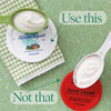 Use nonfat plain yogurt, not sour cream