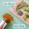 Use Fresh Herbs, Not Seasoning Salt