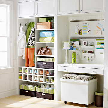 Integrated Entry Storage
