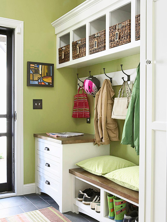 make the most of your mudroom and entryway