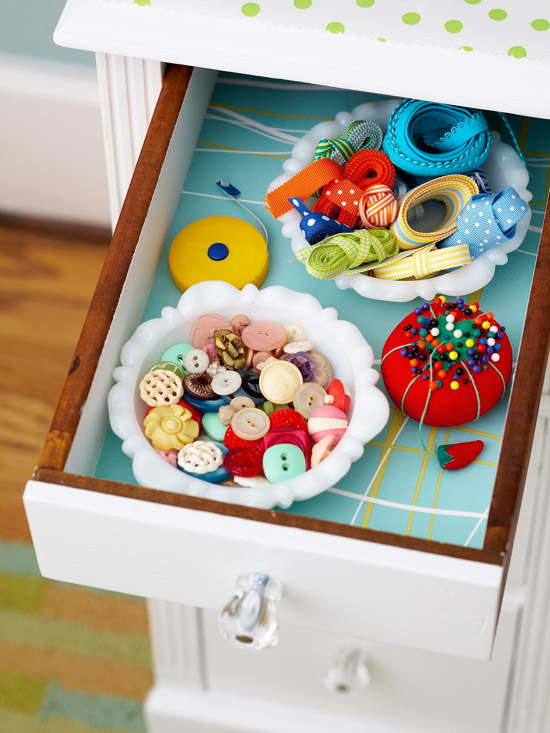 Drawer Organization Trick