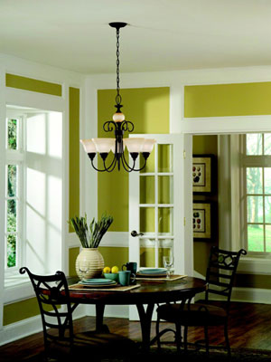 Decorating with Color: Earthy Green Room Ideas