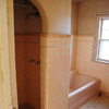 Before: Cramped Bathroom